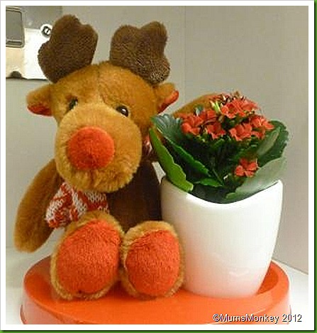 Tesco Reindeer Plant Christmas Decoration