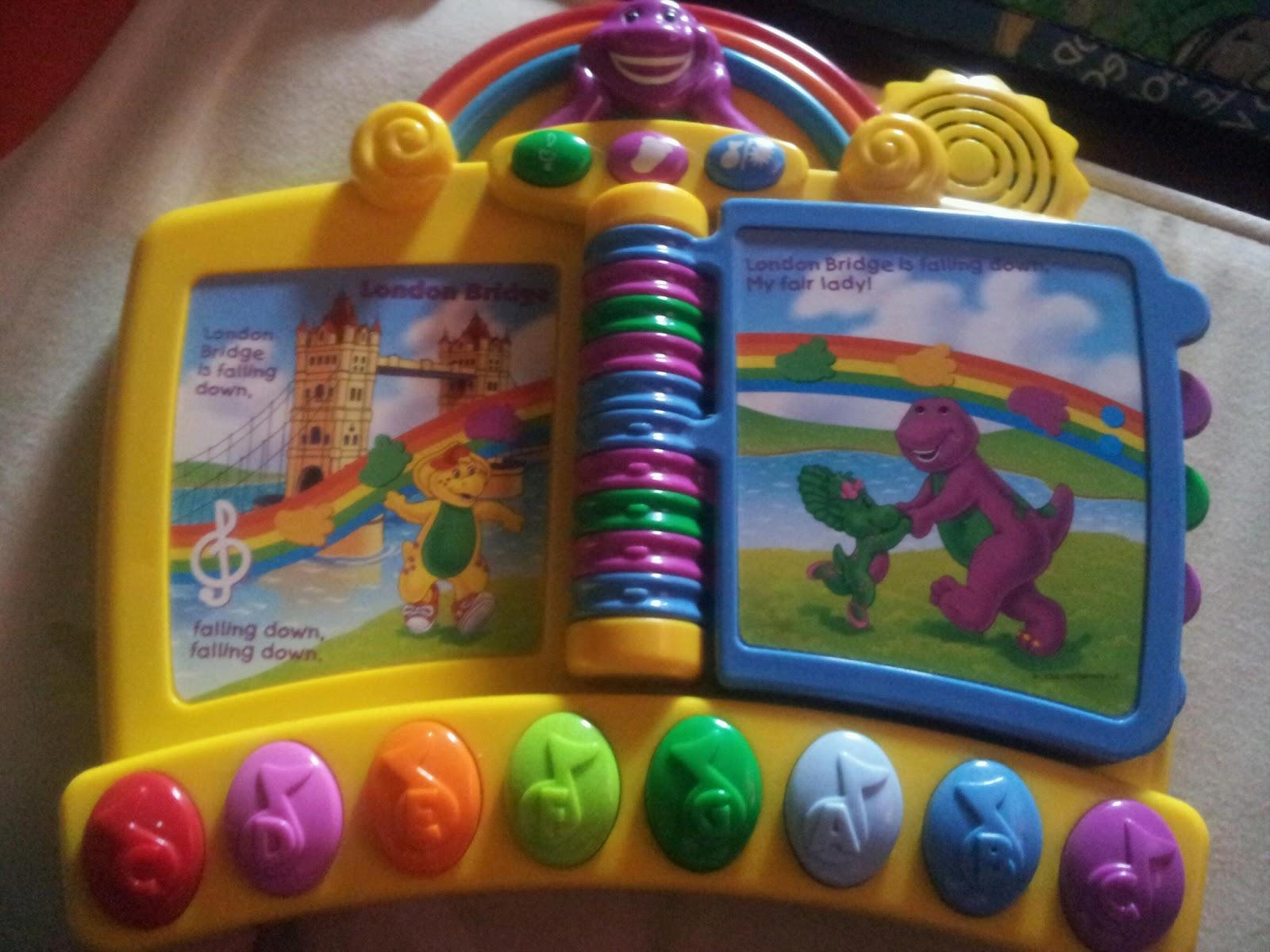 oldstreetshop: Barney & Friends Kids Sing N Play Interactive Musical ...
