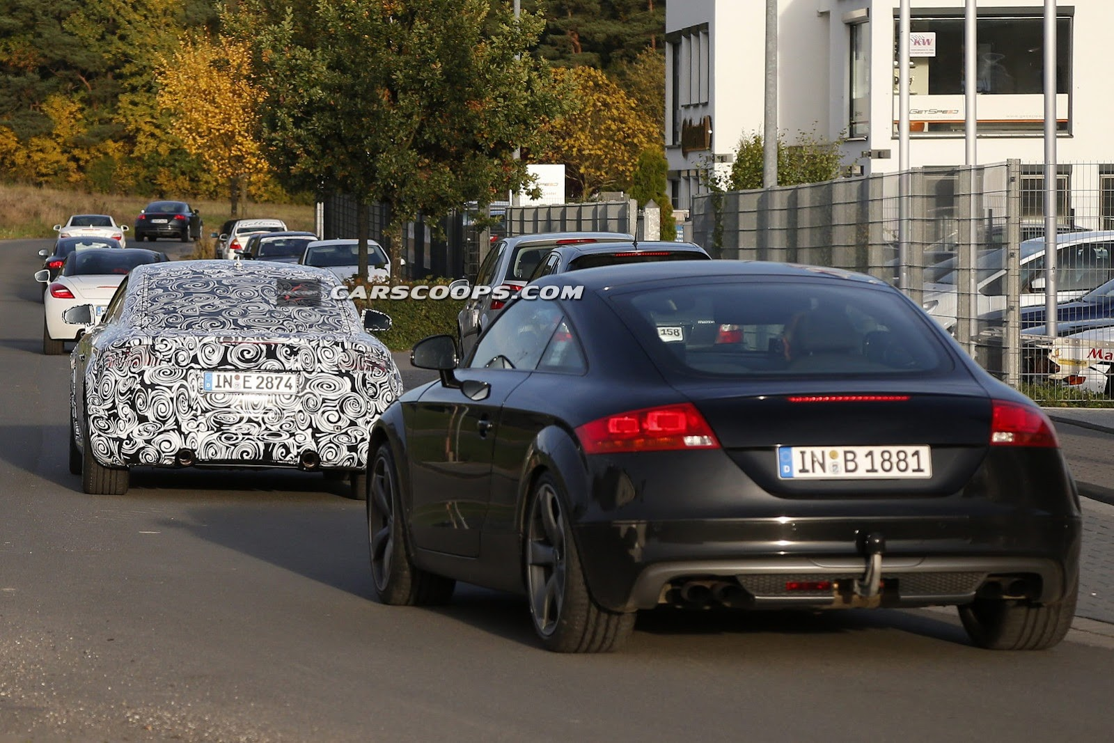 The new tt in coupe form will break cover next year with a roadster to be added to the range shortly after