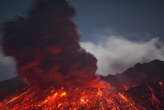 Vulcano em Erupção 05