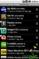 Screenshot of S2 Day Counter Widget