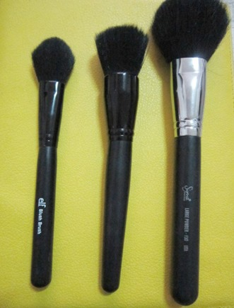 blush brushes, bitsandtreats