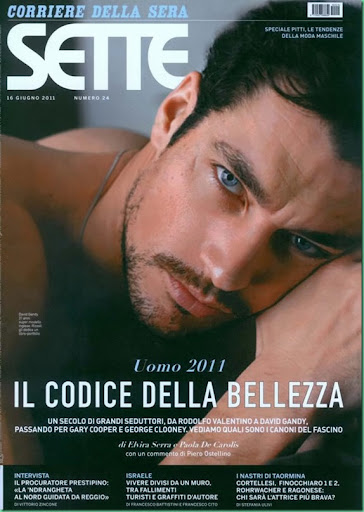 david gandy blog. NEW: David Gandy for Sette