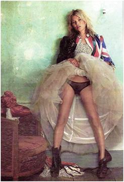 Kate Moss según Testino, Museo Thyssen Bornemisza