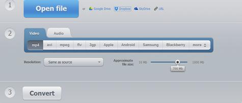 แปลงไฟล์แบบออนไลน์ หรือใน Cloud service
