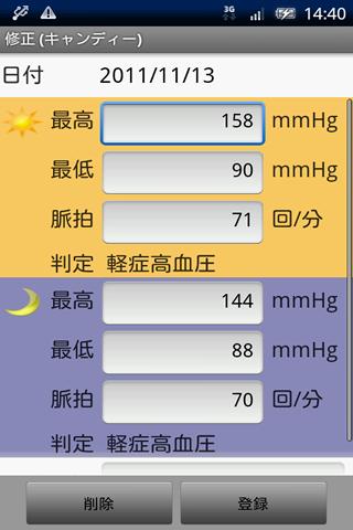 血圧帳Lite