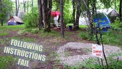 camping etiquette, tips for camping,