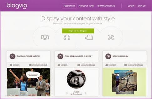 Blogvio - los mejores widgets para tu blog