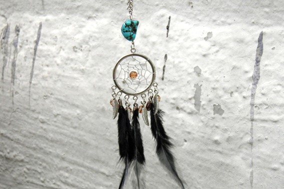 little nells dream catcher necklace