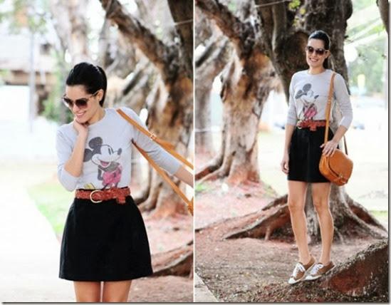 Mariah-Bernardes-com-saia-e-t-shirt-do-Mickey1-541x404