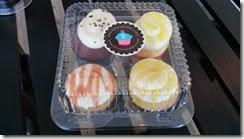 ハワイ島のカップケーキ