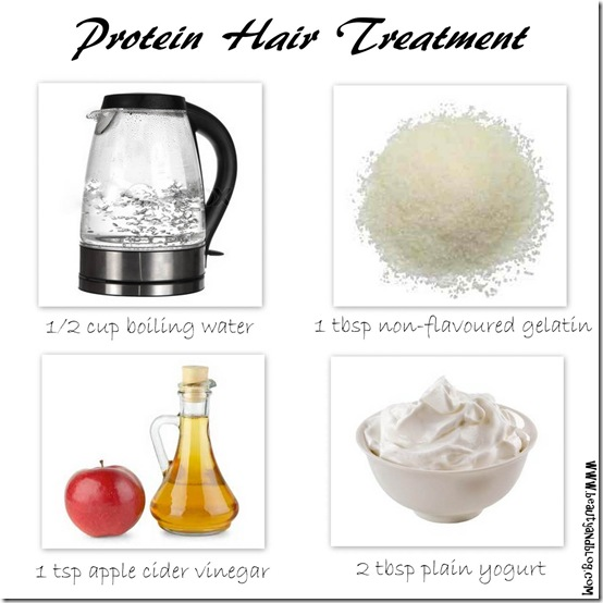 Do It Yourself Protein Hair Treatment