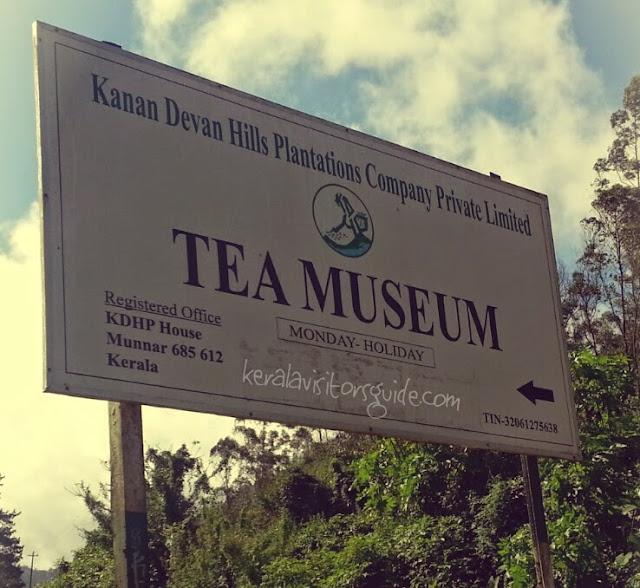 kanan devan, tea museum, munnar