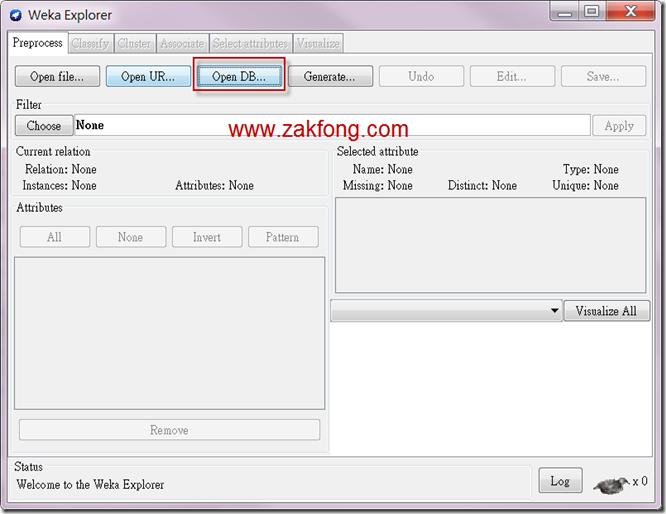201200610-9-Weka-連接MS SQL SERVER 2008 R2-W