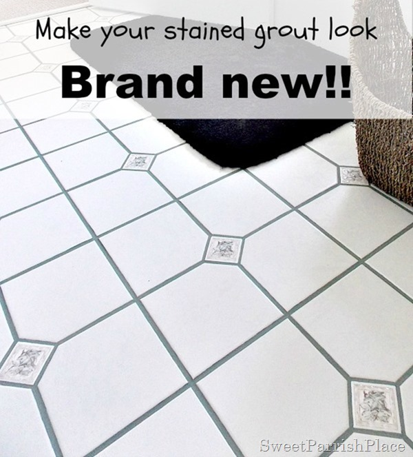 bathroom grout after9