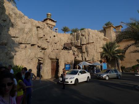 Obiective turistice Dubai:Wild Wadi, parc acvatic Dubai