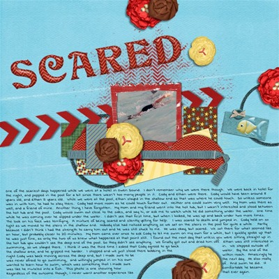 Mommy Me Time Scrapper - Treasures - Scared