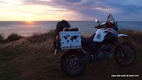 Sonnenaufgang Curio Bay