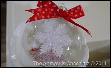 Peppermint Snowflake Ornament (2)