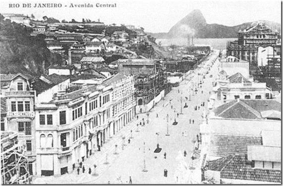 Av. Central - Antes da Biblioteca Nacional