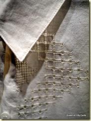 linen shirt detail