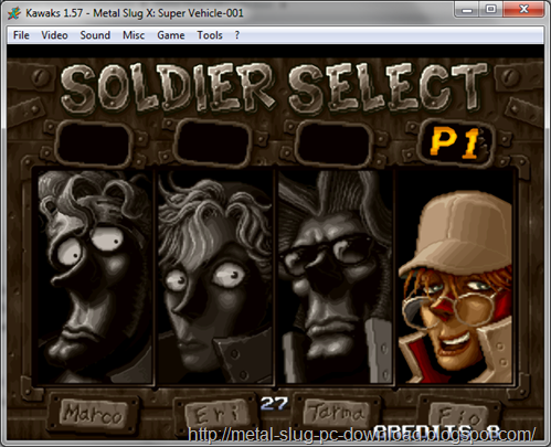 Free Download Metal Slug X PC Games