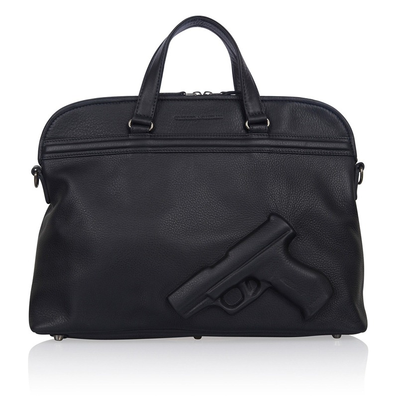 Soft Large Gun Black, Vlieger & Vandam, Guardian Angel, Guardian Angel Bags, V & V, Bag