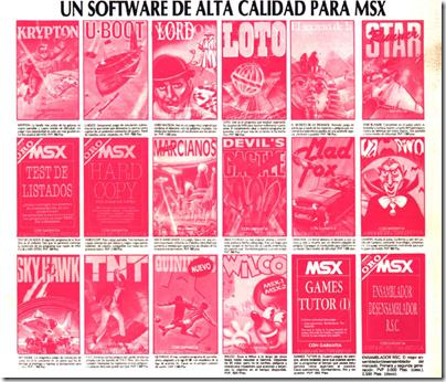 msx de cassettes