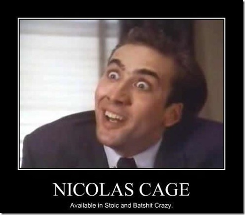 Nicholas Cage Demotivational You Don't Say