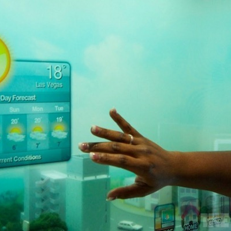 Samsungs Smart Window Brings Minority Report to Life