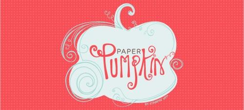DEMO B1 Paper Pumpkin Logo