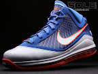 nike air max lebron 7 pe hardwood blue 3 09 Yet Another Hardwood Classic / New York Knicks Nike LeBron VII