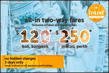 Tigerair All In 2 Way Air Fares Promotion 2013 Singapore Deals Offer Shopping EverydayOnSales