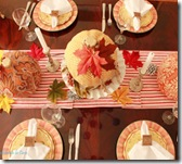 Fall tablescape decoupage pumpkins4TN