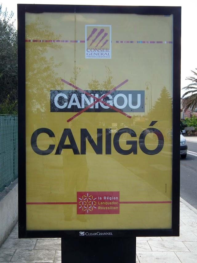 """Una campanya de les administracions de #CatalunyaNord reivindica que és """"Canigó"""" i no """"Canigou"""""""