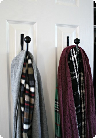 scarf storage organization