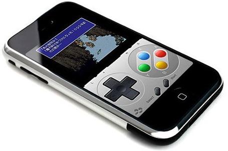 Super Nintendo desde el iPhone