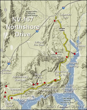 7-IndexMAP - NV-167 Northshore Drive-2