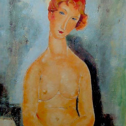 Modigliani, Nude with hands crossed.jpg
