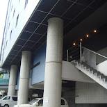 nishi shinjuku hotel parking area in Shinjuku, Tokyo, Japan