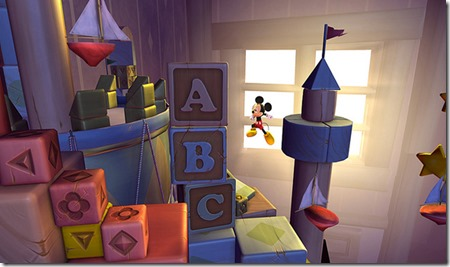 Castle Of Illusion Remake, uno screenshot in-game