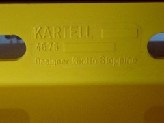 Kartell Giotto Stoppino 4676 Magazine rack