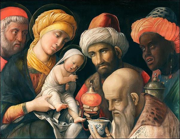 Andrea Mantegna, Adoration des Mages