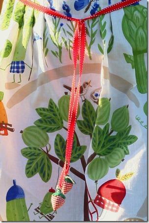 Vestito borsa orto e girasoli-011