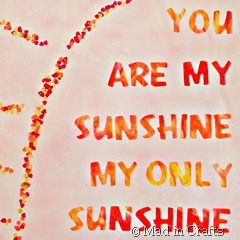 you are my sunshine square