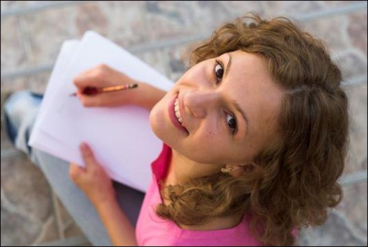 writing teen