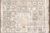 Mosaico de los pajaros