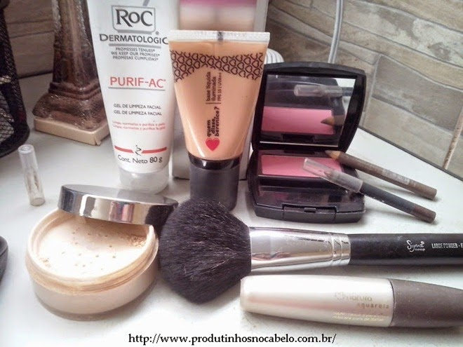Rotina da semana : Pele e maquiagem.