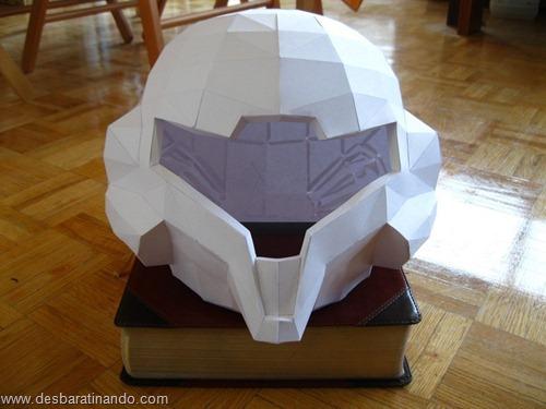 armadura metroid samus papercraft papel desbaratinando  (1)