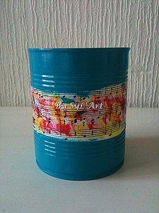 pot décoré 2